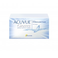 ACUVUE OASYS® with HYDRACLEAR® PLUS 24 sztuki
