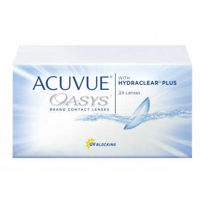 ACUVUE OASYS® with HYDRACLEAR® PLUS 24 sztuki PROMOCJA !!!