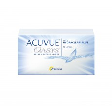 ACUVUE OASYS® with HYDRACLEAR® PLUS 12 sztuk