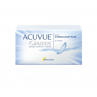 ACUVUE OASYS with HYDRACLEAR PLUS 12 sztuk